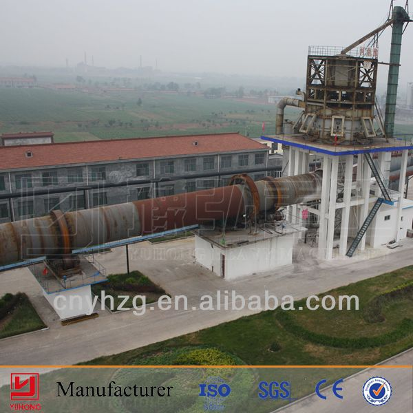 With capacity 6000T/Day Yuhong clay brick tunnel kiln for cement , ore