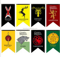 Stock Bolton Sigil Banner decorate flag