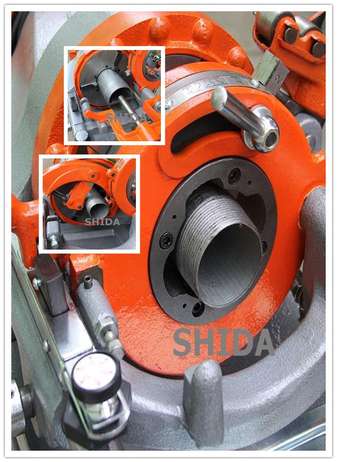 "China 2"" Z1T-R2B Electric Pipe Threader"