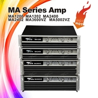 MA1200 style professional audio power amplifier