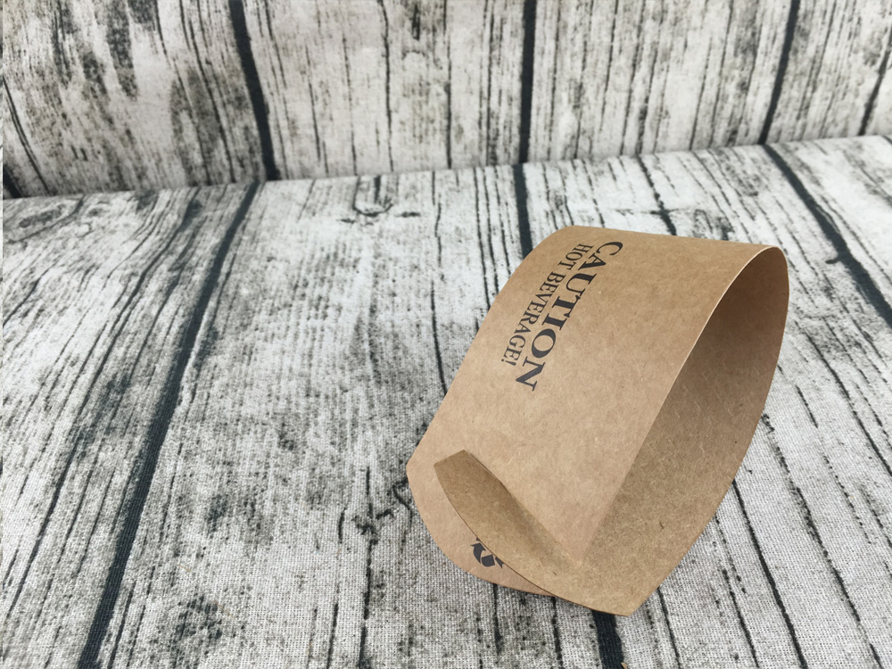 Custom Printed Black/White Coffee Sleeve Cup Sleeve