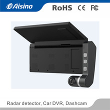 Dual Camera car DVR for Truck WiFi GPS DDR3 2GB memory Dashcam