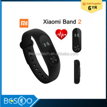 Original Global version Xiaomi Mi Band 2 Smart Bracelet Wristband Miband 2 Fitness Tracker Android Bracelet Heart rate Monitor