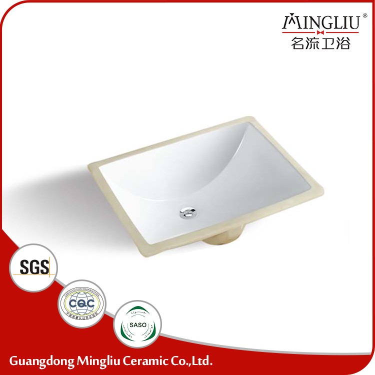 High end new model ceramic undercounter hand wash basin from China