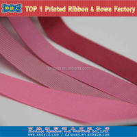 3/8 inch pink grosgrain ribbon for decoration