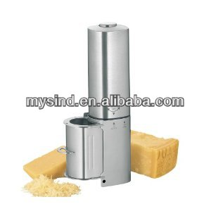 stainless steel electric cheese grater