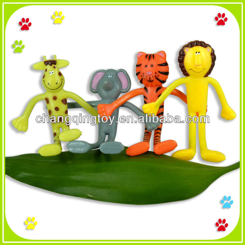 Promotional Kids Bendable Animal toys items.
