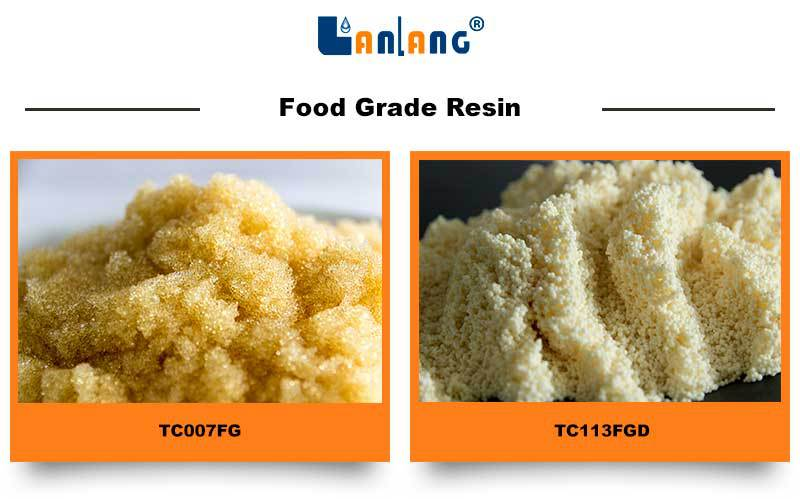 drinking water treatment cation ion exchange resin manufacturer