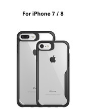 Custom Mobile Phones Case for iPhone 7 with Shockproof TPU PC Cover for iPhone 7 8 Case