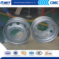 wheel rim tyre rim for truck trailer 8.5-24 / 8.5-20 /8.25-22.5