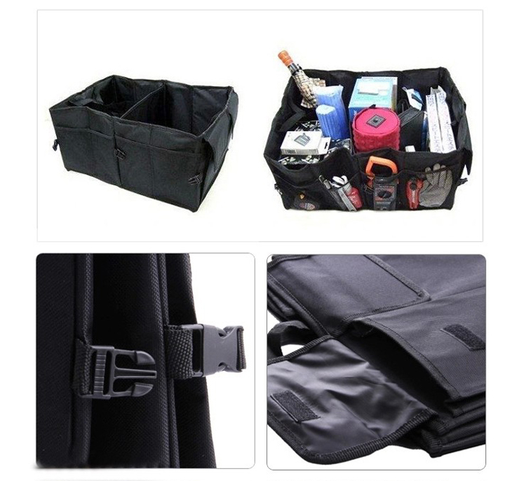 Big Capacity Folding Trunk Car Organizer