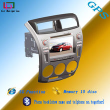 auto radio video navigation system double din touch screen special car dvd gps for city 1.5 hand drive