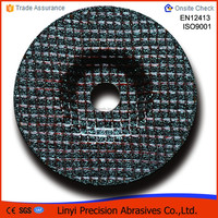 "T27 4""inch metal grinding wheel with 3 nets best price"