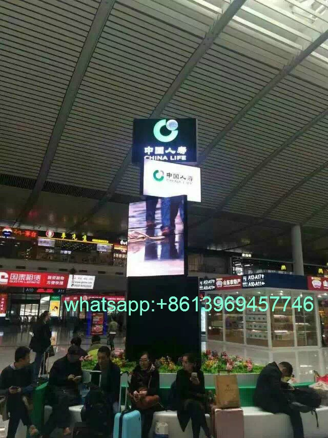 patulous rotary LED screen