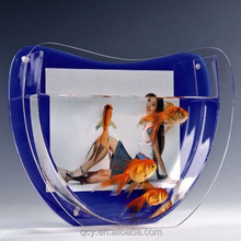modern design clear mini Acrylic fish tank