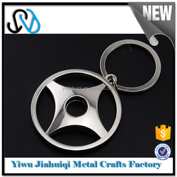 New china products for sale cow leather car logo keychain my orders with alibaba