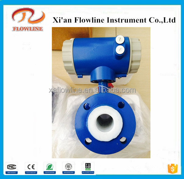 Customized professional pvc water flow meter Batteries