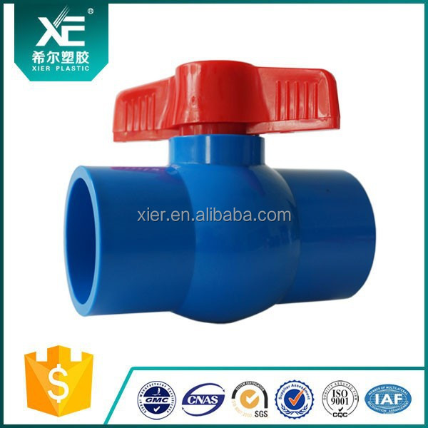 PVC Compact Mini Ball valve for Irrigation/Agriculture/Mariculture