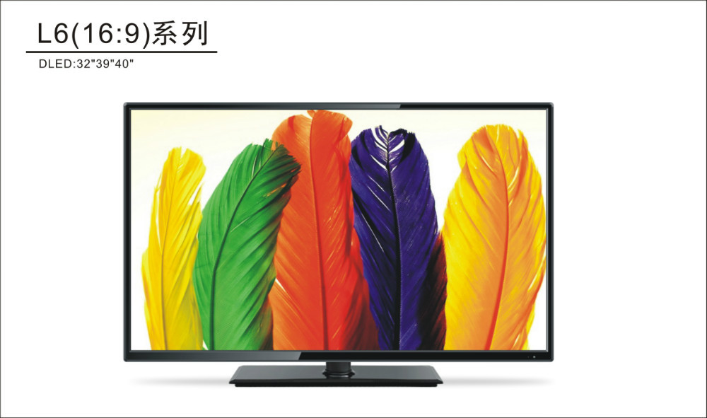 New Arrival A grade Panel Full HD Ultra Thin 1080P HD USB VGA YPbPr 32 inch LED TV 32