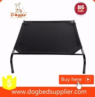 Raised Pet Cots Elevated Foldable Outdoor dog bed cool for summer