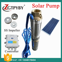 1 hp solar submersible pump submersible deep well solar water pump solar water irrigation pump