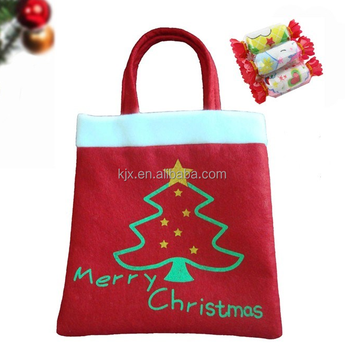 Custom Felt Christmas Gift Bag Manufacturer