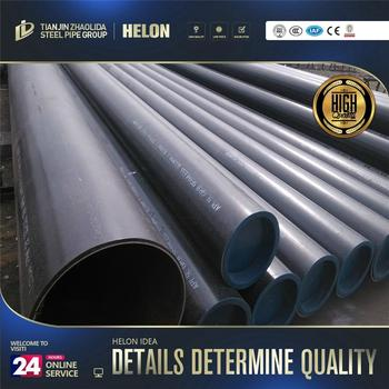 standard length bs1387 carbon steel pipe erw pipe factory mill
