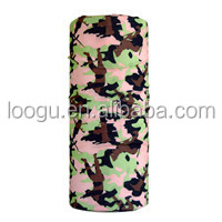 Popular hot boys funny camouflage plain headbands for decorating green color
