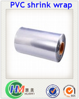 PVC Moisture Proof Feature Plastic Package Wrap Film