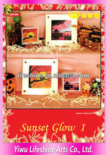 Home decorating tapestry kits sunset glow cross stitch chart