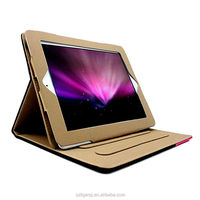 Stand ultra slim folio PU leather case for Ipad Air and for ipad 5