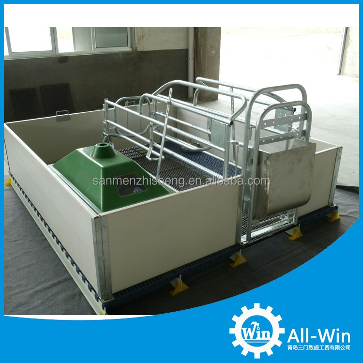 high quality factory supply single type pig farrowing pen for pig equipment