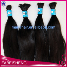 Original raw human hair extension no weft cheap indian virgin hair bulk