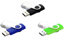 New product,OEM swivel metal usb flash drive,memory key 2.0