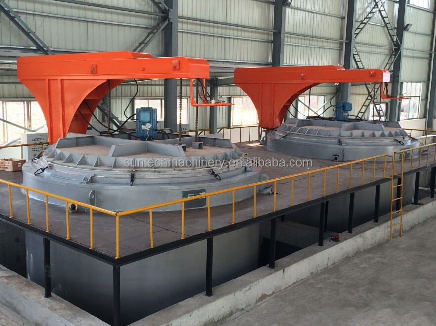 Annealing furnace for steel wire coils