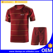 newest famous customized cheap soccer jersey with logo design for Club