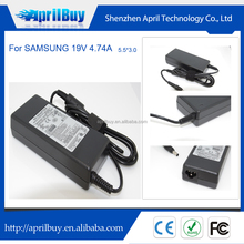 New Laptop Battery Charger For Samsung 19V 4.74A 5.5*3.0 AD-9019s Adapter