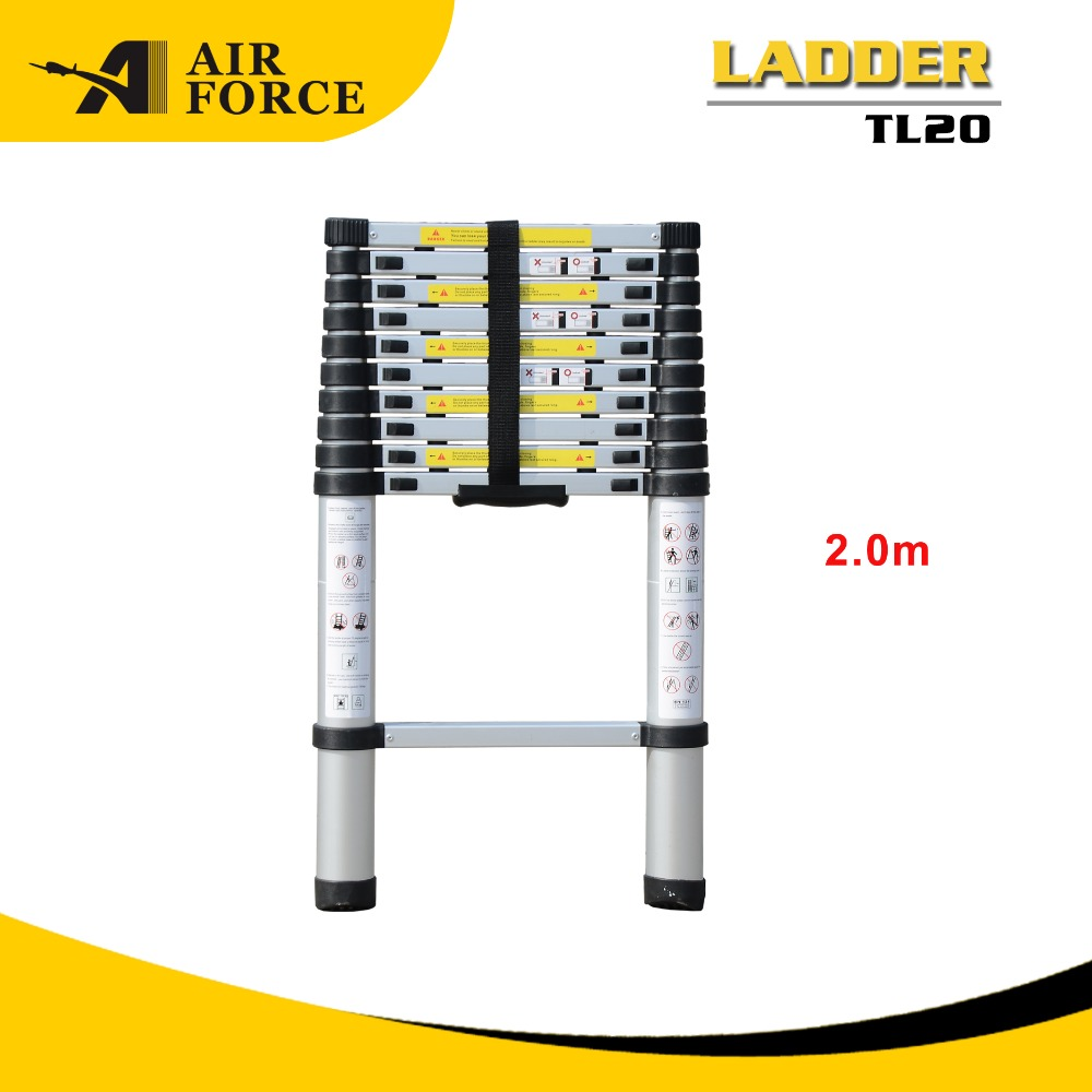 AF TL20 Hot Sales 2.0m Professional Telescopic Extension Laddder