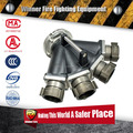 4-Way Siamese Flange Adapters Hydrant Valves
