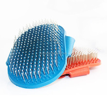 Silicone Pet Dog And Cat Removal Brush Fashion Hair Comb Grooming For Cat Cleaning Pets Dog Brush Products 2Colors Pet Supplies
