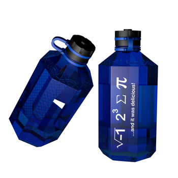 3.78L Big Capacity Leakproof  BPA Free Shaker bottle plastic