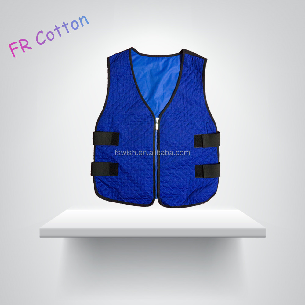 Evaporative Cooling Vest in Safety Clothing