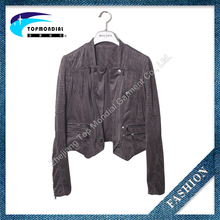New Design Wholesale Reasonable Price Leather Motor Bike Jacket