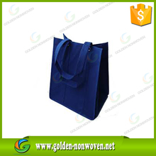 Handled Style colorful photo printing nonwoven shopping bag glossy laminated bag