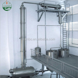 High efficient industrial steam distillation