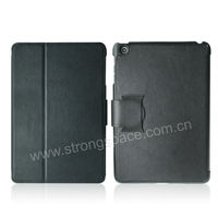 Lichee Magnetic Stand PU Leather Smart Cover Case for Apple Mini iPad
