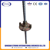 Concrete Formwork Screw Tie Rod / Hot Rolled Tie Rod