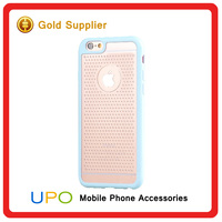 [UPO] Fashionable dot back Plastic pc tpu mobile phone case for iPhone 6
