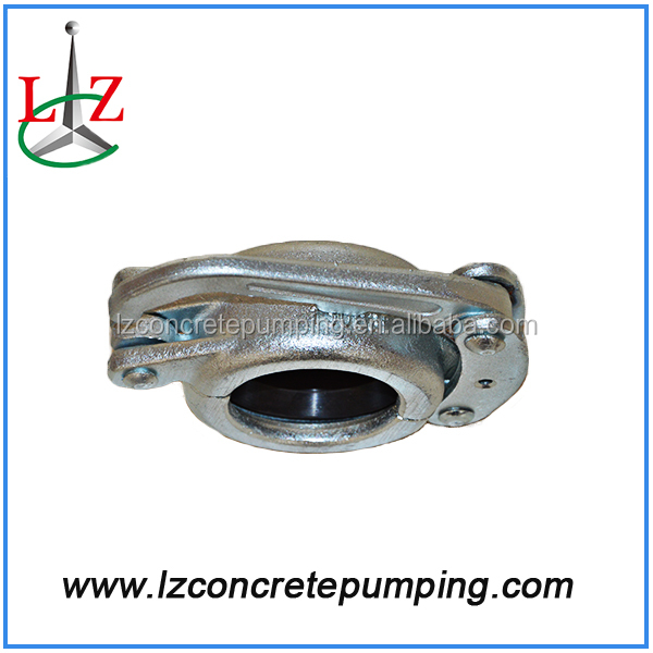 The Schwing / PM / Greaves / zoomline hot sale concrete pump spare parts / accessories clamp coupling