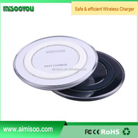 QI Wireless Fast Charging Charger Pad Dock For Samsung Galaxy S6 Edge+ Note 5